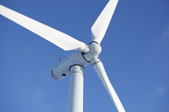 Wind turbine in a windfarm Royalty Free Stock Photos