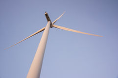 Wind turbine working Royalty Free Stock Photography