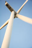Wind turbine working Royalty Free Stock Image