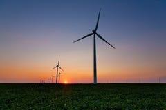 Wind-Turbinen Lizenzfreies Stockfoto