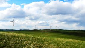 Free Wind Turbines Royalty Free Stock Photo - 10078875