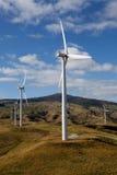 Wind Turbines. Row of Wind Turbines XXXL file size Stock Photography