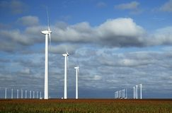 Wind Turbines 19 Royalty Free Stock Photo
