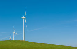 Wind turbines Royalty Free Stock Images