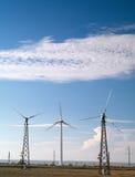 Wind turbines Stock Photos
