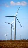 Wind Turbines. Wind Turbine Farm in Northwestern Indiana Royalty Free Stock Photo