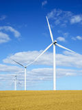 Wind turbines 3 Stock Photography