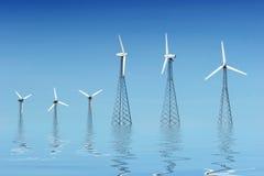 Wind turbines Royalty Free Stock Image