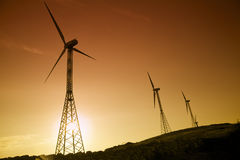 Free Wind Turbines Royalty Free Stock Photos - 3134488