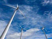 Wind turbines Royalty Free Stock Photos