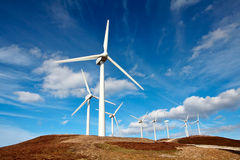 Free Wind Turbines Stock Photo - 662060