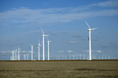 Wind Turbines 8. Wind turbines near White Deer, Texas Royalty Free Stock Photography