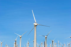 Wind turbines - alternative energy Royalty Free Stock Image