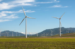 Wind Turbines. In Andalucia, Spain Royalty Free Stock Photography