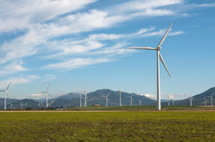 Wind Turbines. In Andalucia, Spain Stock Photo