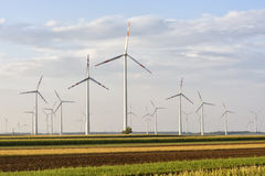 Wind turbines in Austria Royalty Free Stock Image