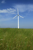 Wind turbines in china Royalty Free Stock Photos