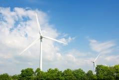 Wind turbines Royalty Free Stock Photo