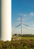 Wind turbines in the countryside Stock Image