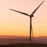 Wind-turbines in Croatia Royalty Free Stock Photos