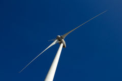Wind Turbines. At Eemshaven in Holland Stock Image