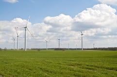Wind Turbines Farm Royalty Free Stock Image