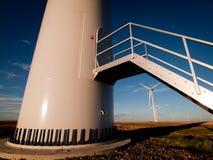 Wind turbines farm Royalty Free Stock Photos