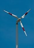 Wind turbines generating electricity. In Bangpoo Samut Prakarn,Thailand royalty free stock photo