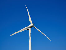 Wind turbines generating electricity. Alternative renewable energy royalty free stock images