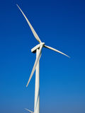 Wind turbines generating electricity. Alternative renewable energy royalty free stock photos