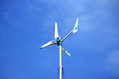 Wind turbines generating electricity Royalty Free Stock Images