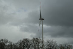 WIND TURBINES  IN GERMANY Royalty Free Stock Photos