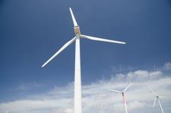 Wind turbines in Italy. Italy. Wind turbines in wind farm in Sedini, Sardinia Stock Photos