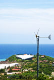 Wind turbines, Koh Larn, Pattaya, Chonburi, Thailand Stock Photography
