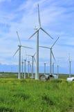 Wind turbines. Stock Photography