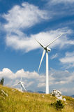Wind Turbines, mill Stock Images