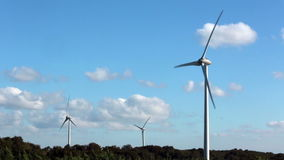 Wind Turbines near Istanbul stock footage