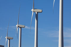 Wind Turbines On A Windmill Farm Royalty Free Stock Image
