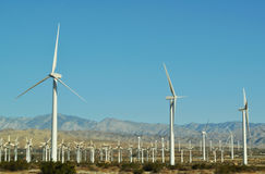 Wind Turbines, Palm Springs, Palm Desert Stock Image