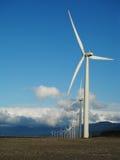 Wind Turbines Portrait Stock Photography