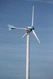 Wind turbines in running. Royalty Free Stock Photography