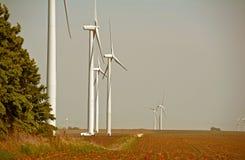 Wind Turbines Service Stock Photo