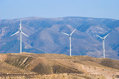 Wind Turbines in Spain Stock Photos