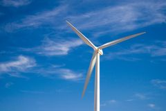 Wind Turbines in Spain Royalty Free Stock Photography
