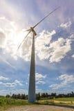 Wind turbines in Suwalki. Poland Stock Photography