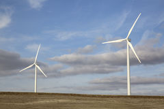 Wind Turbines, Valladolid Royalty Free Stock Images