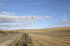 Wind Turbines, Valladolid Stock Photography
