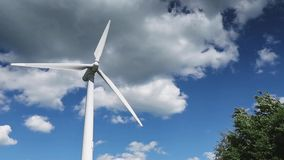Wind turbines, video stock video footage