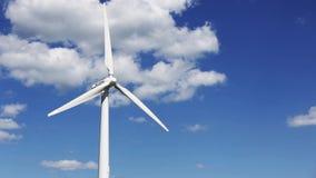 Wind turbines, video stock video