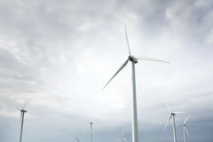 Wind Turbines in wind farm Royalty Free Stock Image